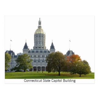 Carte postale du bâtiment de capitol d'état du