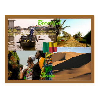 Carte postale du Bénin