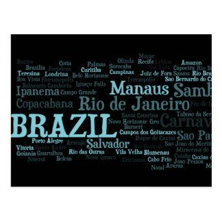Carte postale du BRÉSIL