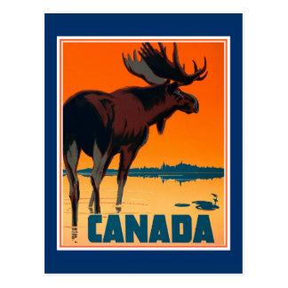 Carte postale du Canada