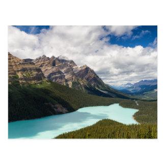 Carte postale du Canada - du lac Peyto