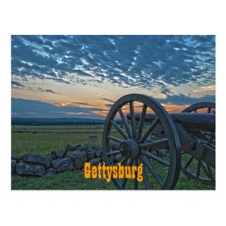 Carte postale du canon II de Gettysburg