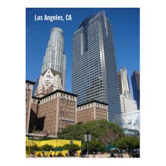 Carte postale du centre de Los Angeles !