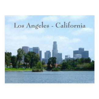 Carte postale du centre de vue de Los Angeles