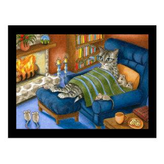 carte postale du chat 459