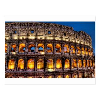 Carte Postale Du Colosseum romain avec amour