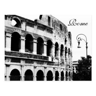 Carte postale du Colosseum, Rome