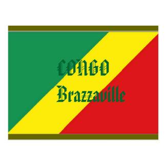 Carte postale du Congo Brazzaville