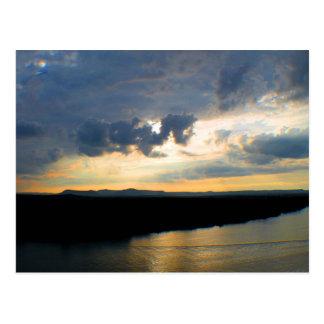 Carte postale du fleuve Colorado dans le Texas au
