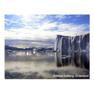 Carte postale du Groenland
