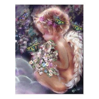 Carte postale du jardin du ciel
