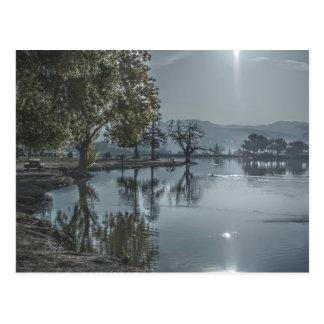 Carte postale du lac 2