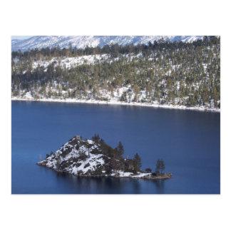 Carte postale du lac Tahoe
