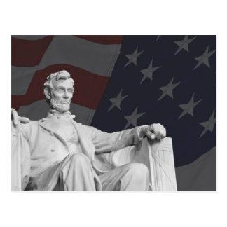 Carte postale du Lincoln Memorial