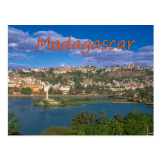 Carte postale du Madagascar