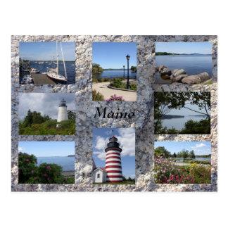Carte postale du Maine