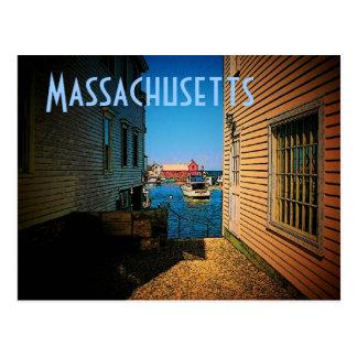 Carte postale du Massachusetts