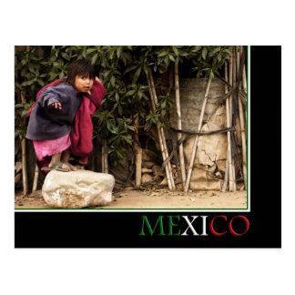 Carte postale du Mexique