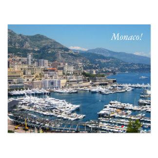 Carte postale du Monaco