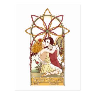 Carte postale du paradis d'une autre fille