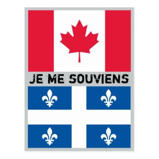 Carte postale du Québec