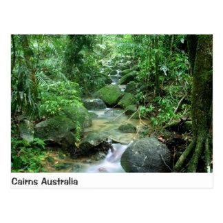 Carte postale du Queensland Australie de crique de