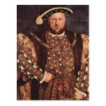 Carte postale du Roi Henry VIII