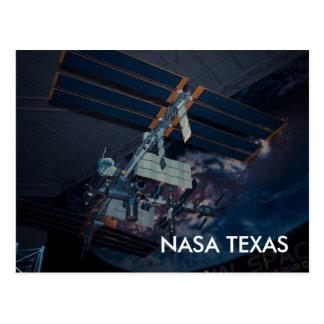 Carte postale du Texas de centre spatial de la