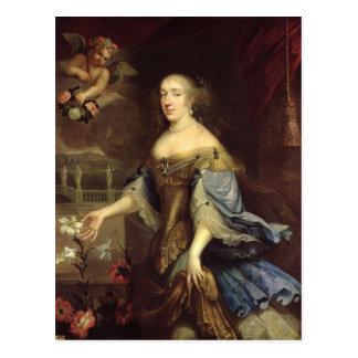 Carte Postale Duchesse de d'Orleans d'Annemarie de Montpensier