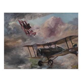 Carte Postale Duel 1917