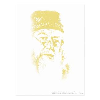 Carte Postale Dumbledore