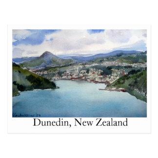 Carte postale Dunedin, Nouvelle Zélande