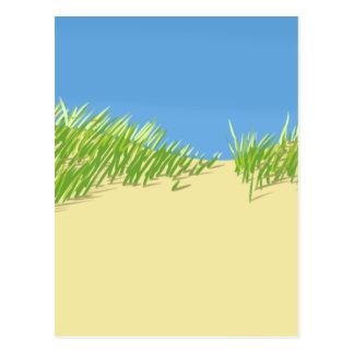 Carte Postale Dunes de bord de la mer