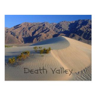 Carte Postale Dunes de sable de Death Valley