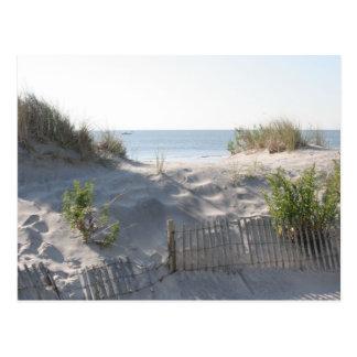 Carte Postale Dunes de ville d'océan
