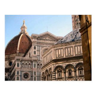 Carte Postale Duomo de Firenze - Baptistry