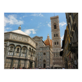 Carte Postale Duomo de Firenze - cathédrale