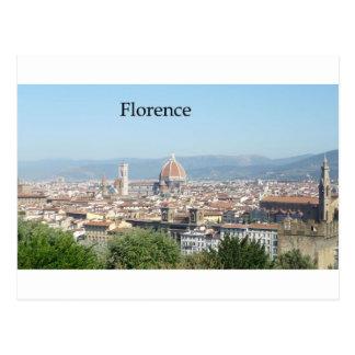 Carte Postale Duomo de Florence du carré de Michaël Angelo