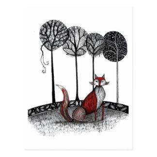 Carte Postale Dupez le renard