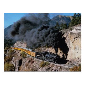 Carte Postale Durango et chemin de fer de Silverton, no. 481,