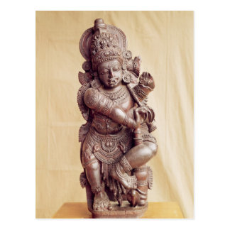 Carte Postale Durga, d'Inde du sud
