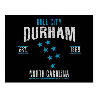 Carte Postale Durham