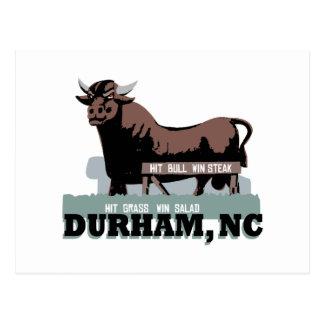 Carte Postale Durham OR Taureau