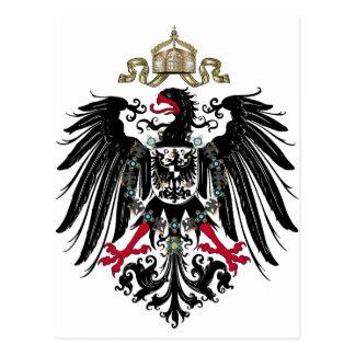 Carte Postale Eagle prussien