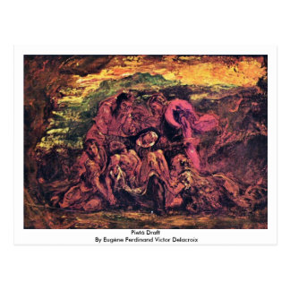 Carte Postale Ébauche de Pietà par Eugène Ferdinand Victor