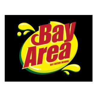 Carte Postale Écart-type de région de baie