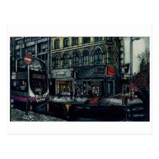 Carte Postale Échange de vinyle par Anthony McCarthy