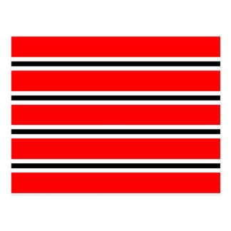 Carte Postale Écharpe rouge de barre du football de Manchester