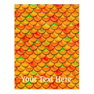 Carte Postale Échelles oranges et vertes de Falln