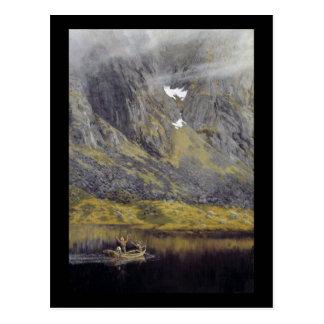 Carte Postale Écho (EKKO sur le fjord)